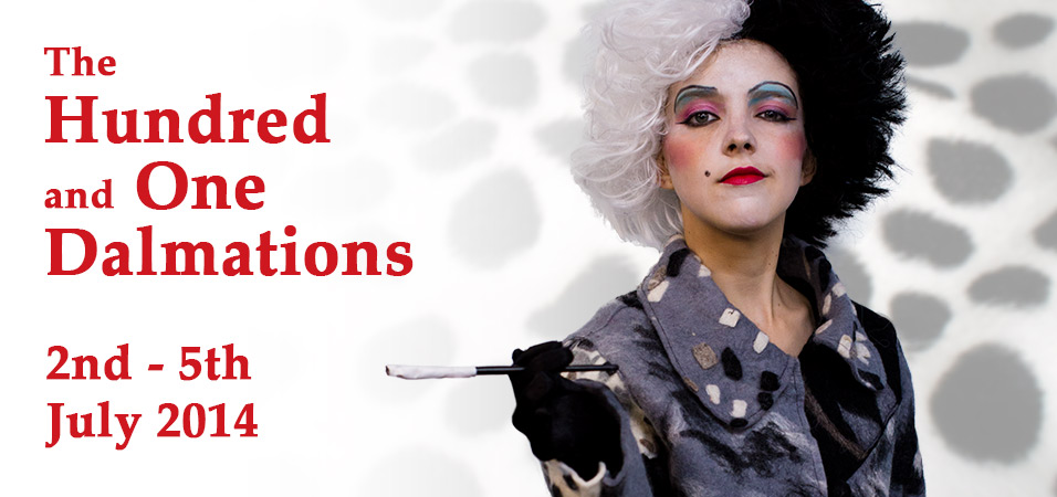 The Hundred and One Dalmations - 2nd-5th July 2014 Header
