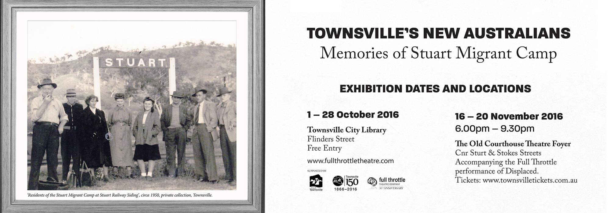 Townsville's New Australians
