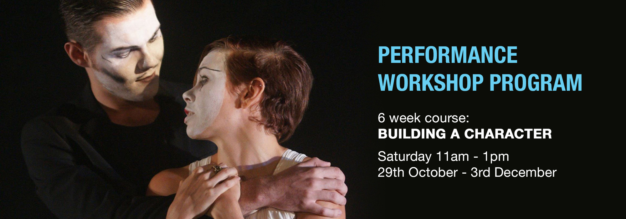 Performance workshops at Full Throttle Theatre Townsville
