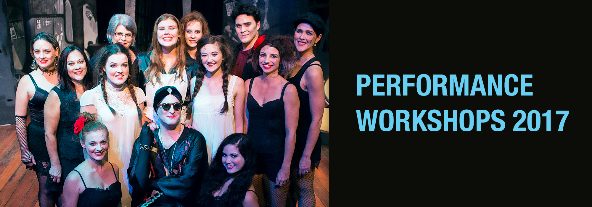 Performance workshops at Full Throttle Theatre Townsville 2017