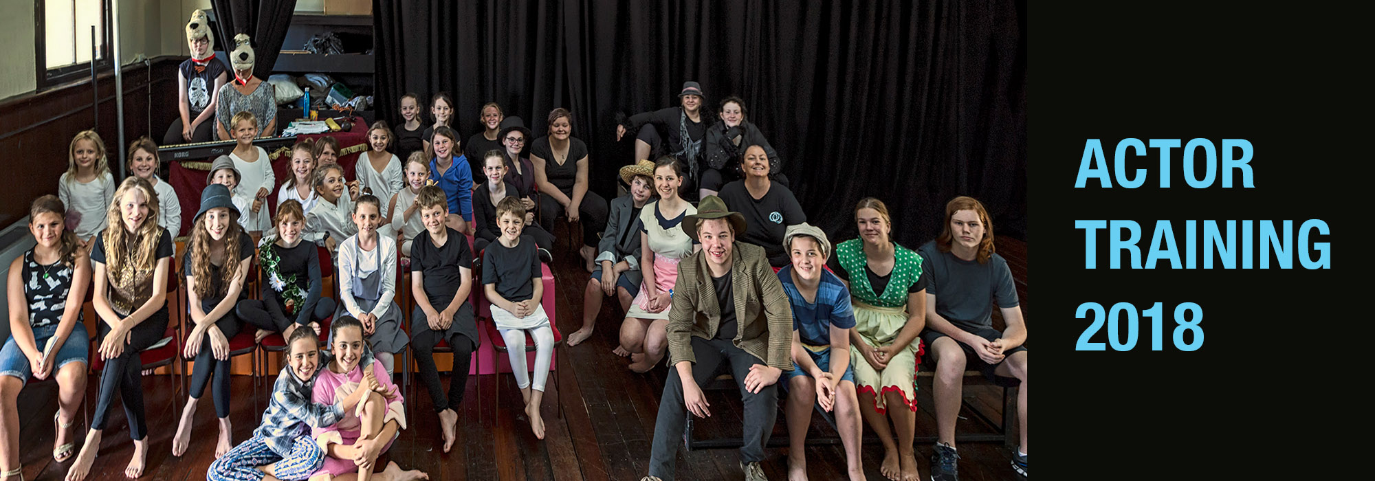 Performance workshops / Actor training at Full Throttle Theatre Townsville 2018